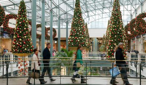 German retailers report poor Christmas