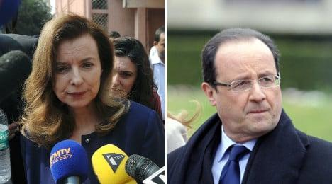 François and Valérie go their separate ways