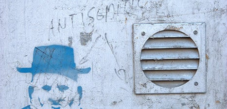 Two charged for anti-Jewish graffiti in Rome