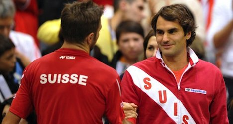 Swiss off to strong start in Davis Cup tennis