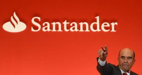 Banking titan Santander reports 2013 profit leap
