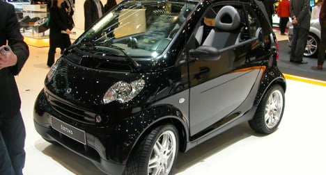Smart car the 'most stolen in France in 2013'