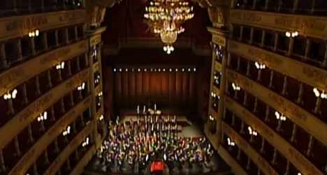 Milan's La Scala emptied for conductor tribute
