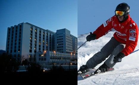 Schumacher skiing at 'appropriate' speed