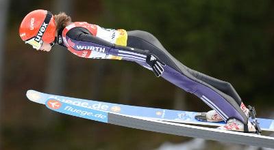 Sochi's youngest hope – German ski jumper, 15