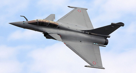 French arms industry enjoys boom in trade