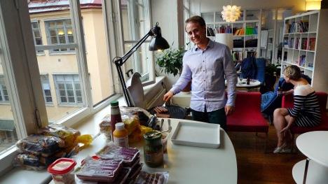 Swedish rent-a-desk can help save expat lives