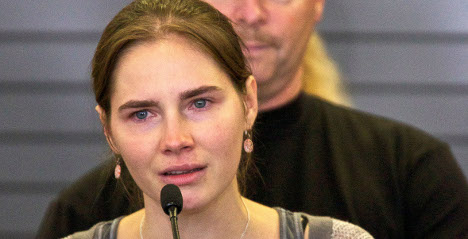 Amanda Knox saddened by 'unjust' verdict