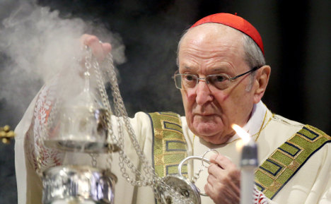 Cardinal offends with Muslim birth rate remark