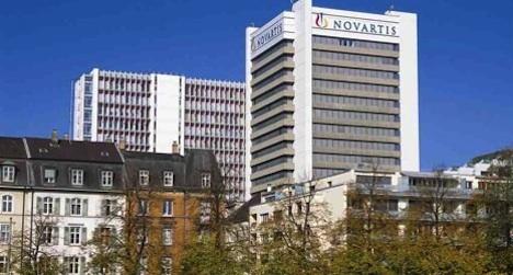 Exchange rates cut Novartis profits for 2013
