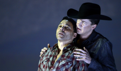 'Brokeback Mountain' opera staged in Spain