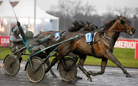 Swedish duo speed to 'dream' horse racing win