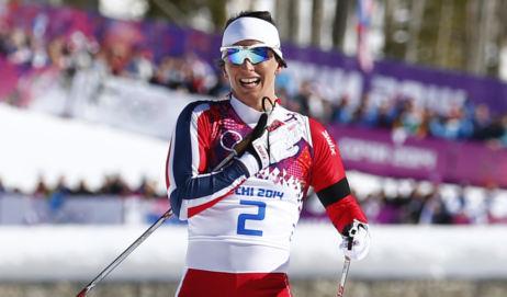 Bjørgen wins new gold in team sprint