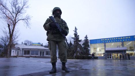 'Crimea not a question for Nato': Sweden