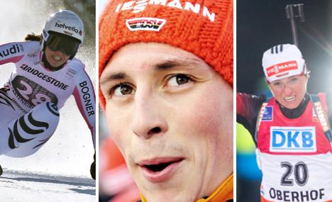 Who are Germany's Sochi Olympic hotshots?
