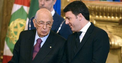 Italy's youngest-ever PM Matteo Renzi sworn in