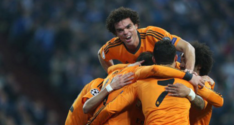 Real rout Schalke to earn rare win in Germany