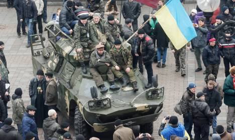 Berlin 'deeply concerned' about Ukraine tension