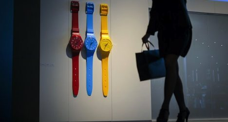 Swatch posts record profit as 2013 sales soar