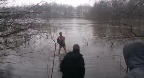 Swede becomes YouTube star after saving duck