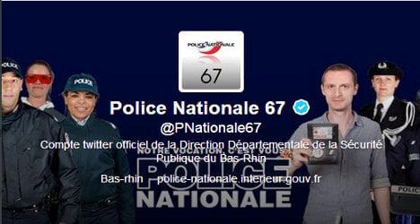 French cops tweet photo of murder victim's corpse