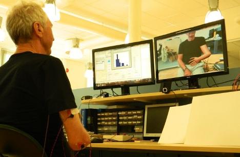 Phantom limb patients treated in virtual reality