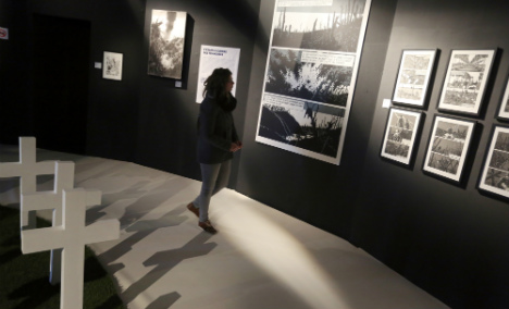 Japan upset by 'comfort women' at French show