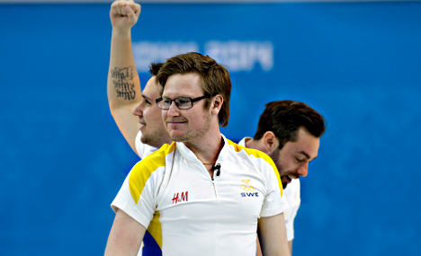 Swedish men secure Sochi curling bronze