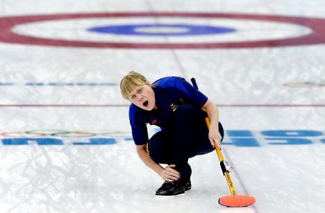 Sweden win silver in women's curling final
