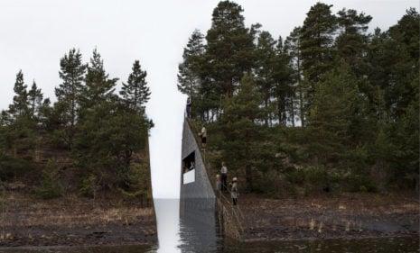 Swedish artist's 'memory wound' to mark Utøya