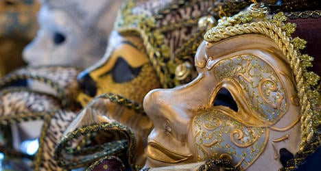 Carnival costumes a health threat in Rome