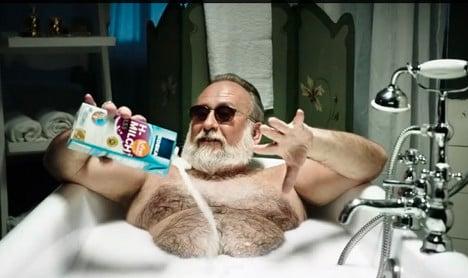 'Supergeil' supermarket ad goes viral