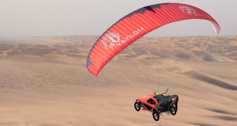 Flying car could land on French roads in 2015