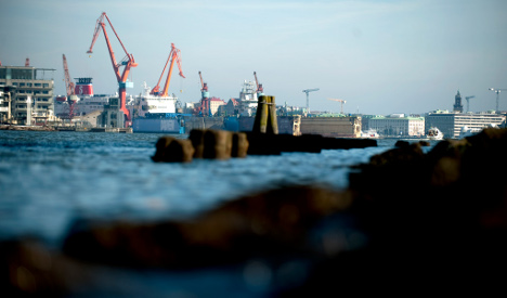 Sweden's 2013 exports figures take a dip