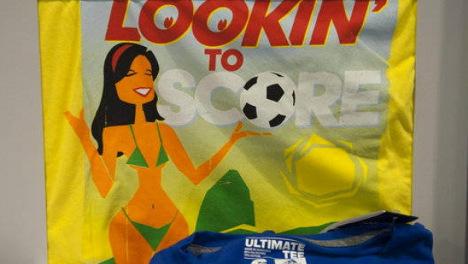 Adidas pulls 'sex trade' World Cup T-shirts