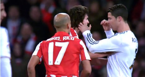 Real hope for lenient ban for Ronaldo's 'aggro'