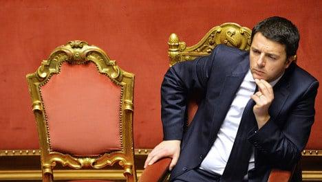 Renzi wins confidence vote for 'radical' plans