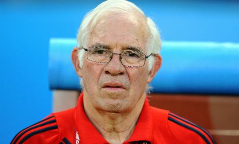 Spain Euro 2008-winning coach Aragones dies