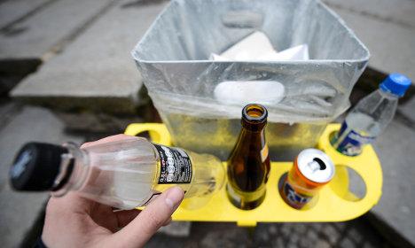 Bamberg trials bin bottle aid