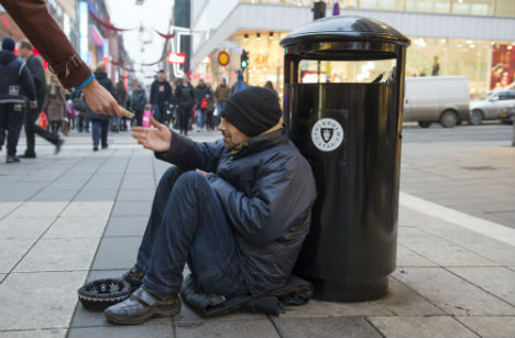 Romanian beggars cleared in court