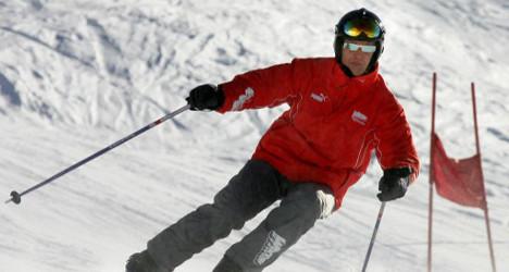 Schumacher's 'other accident' was in Spain