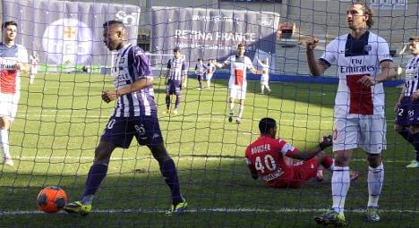Ibrahimovic treble keeps PSG on track for title