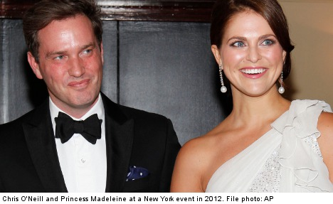 Princess Madeleine gives birth to a daughter