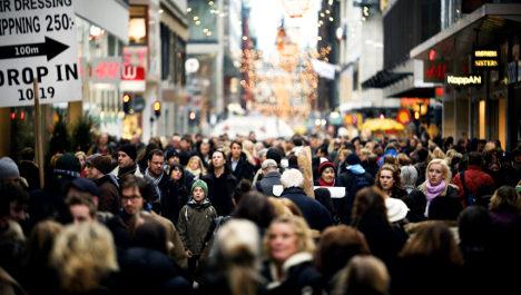 Immigrants behind boom in Sweden's population