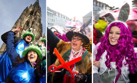Karneval festivities kick off in Rhineland