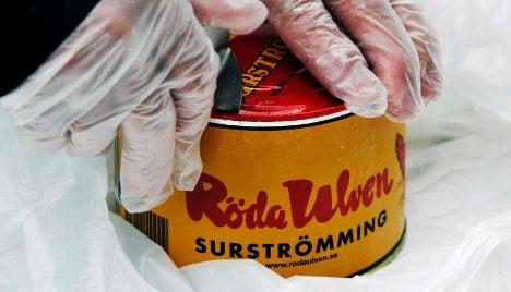 Swedish expert 'disarms' 25-year-old herring tin