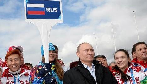 'Go home, you have enough medals': Putin
