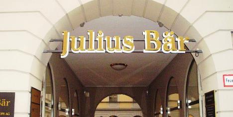 Bank Julius Bär profit dips after acquisition