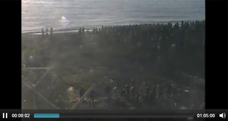 Ministry releases full footage of Ceuta tragedy