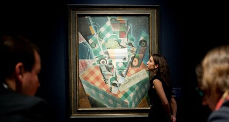 Auction record smashed for Spanish artist Gris